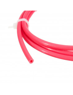 PTFE tube 2mm / 4mm red -...