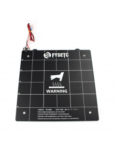 Magnetic PCB heated bed...