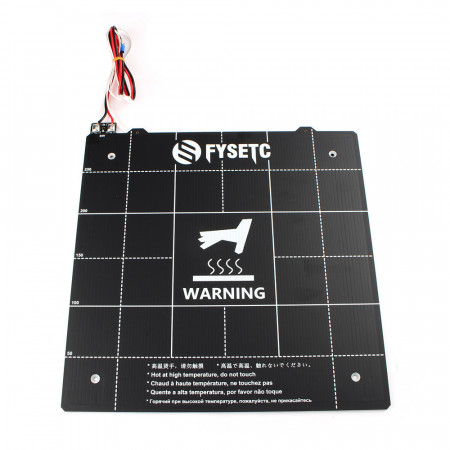 Magnetic PCB heated bed 300x300mm - 24V