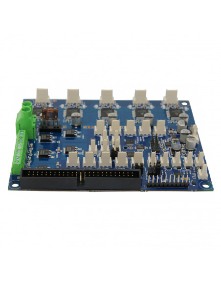 Expansion board DUEX5 for the Duet 2