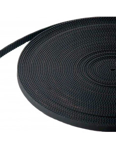 GT2 6x2mm timing belt (fiberglass) - per meter