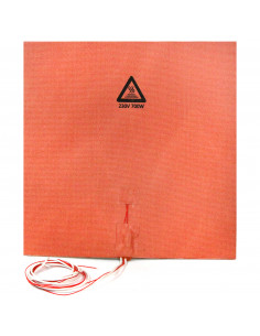 Silicone heater mat 300x300mm 230V 700W