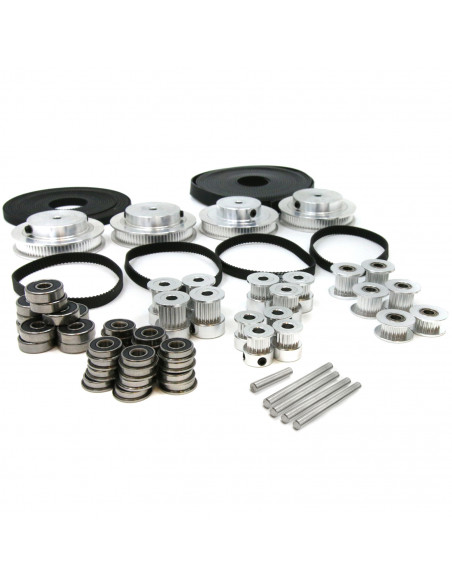 Timing belts and pulleys kit for VORON 2.4 300x300 mm