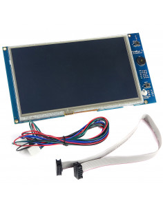 Integrated screen PanelDue Duet3D 7""