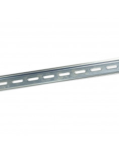 Set of perforated DIN rails - 430mm