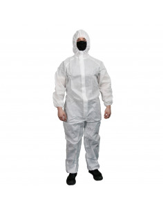 """Painting protective coverall - white """"XXXL"""""""